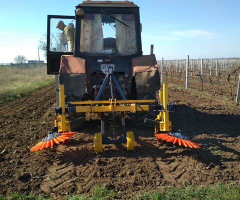 Testing of a cultivator for a garden and a vineyard. Part 2.