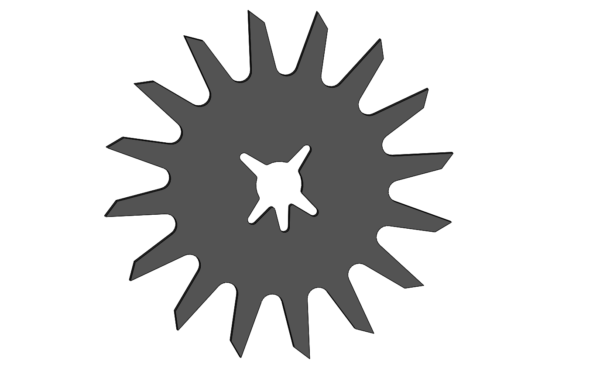 Зірка очищувача рядка сівалка Kinzе GD 1770