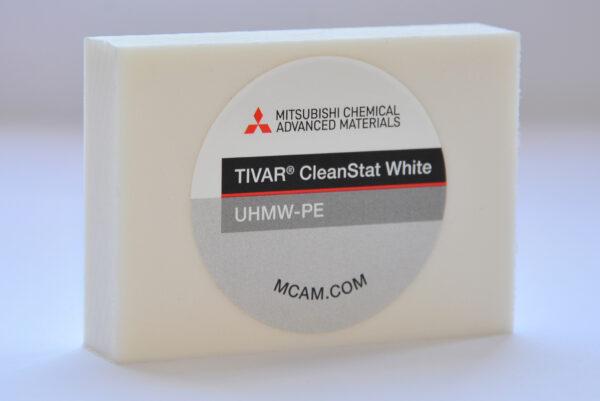 TIVAR® CleanStat White UHMW-PE